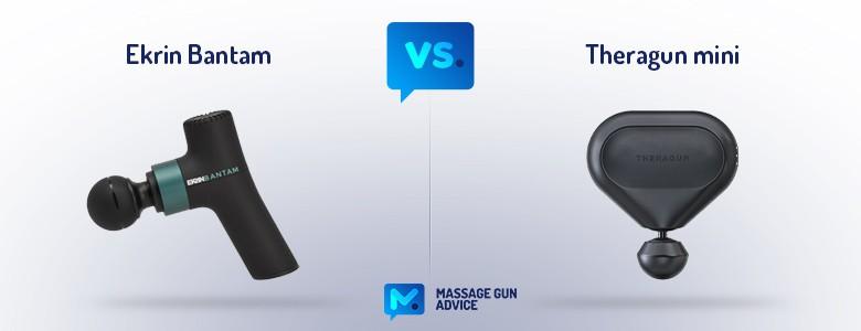 Ekrin Bantam vs. Theragun Mini