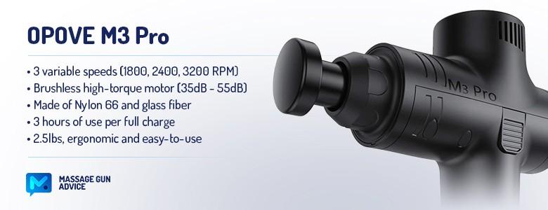 OPOVE M3 Pro features