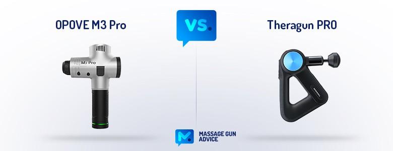 Opove M3 Pro vs Theragun