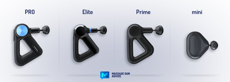 compare theragun massage guns