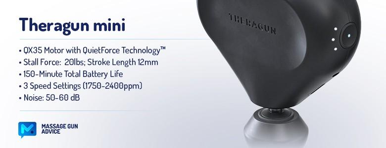 theragun mini features