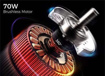 70 watt brushless motor Everyfun M3 Pro