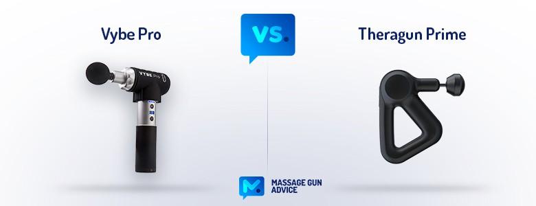 Vybe Pro vs. Theragun Prime
