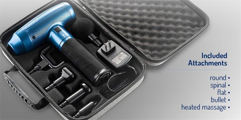 fusion x massage travel case attachments