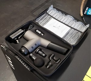 wodfitters xcel massage gun set box