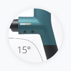 Ekrin 15 degree angled handle