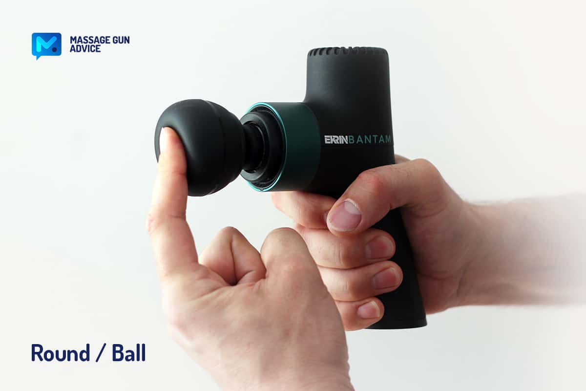 bantam attachment round silicone hollowed ball