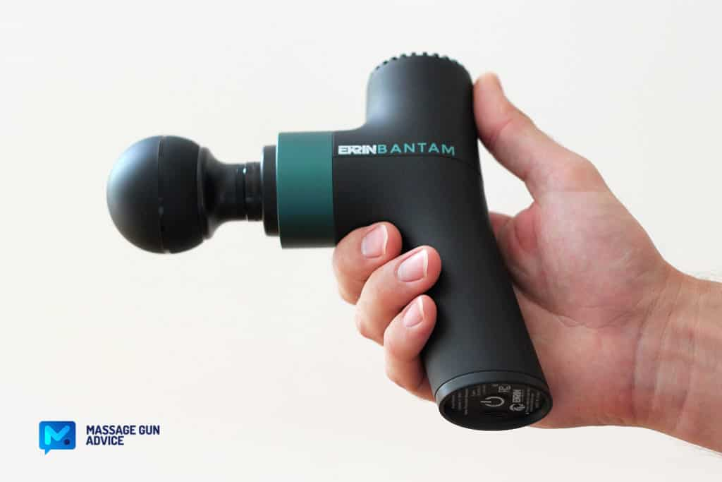 bantam compact size massage gun