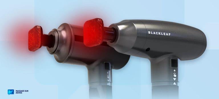 blackleaf heated massage gun review