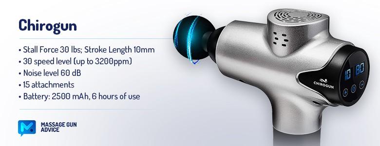 chirogun specifications