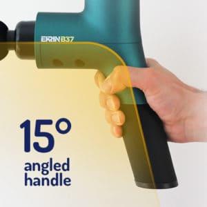 ekrin b37 15-degree angled handle