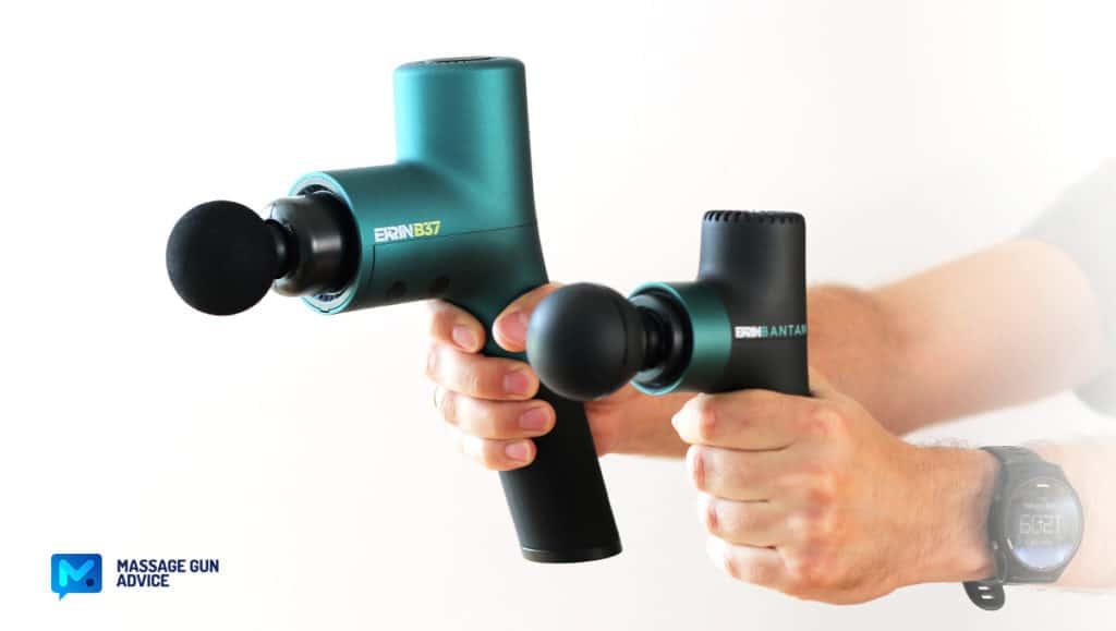 ekrin bantam b37 massage guns