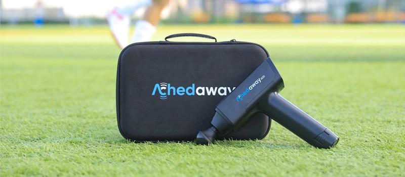 ergonomic shape size of achedaway pro massage gun