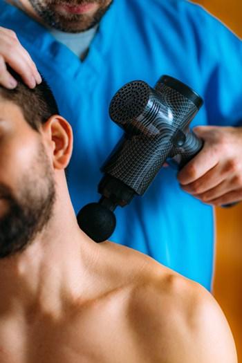 how to use deep tissue massage gun