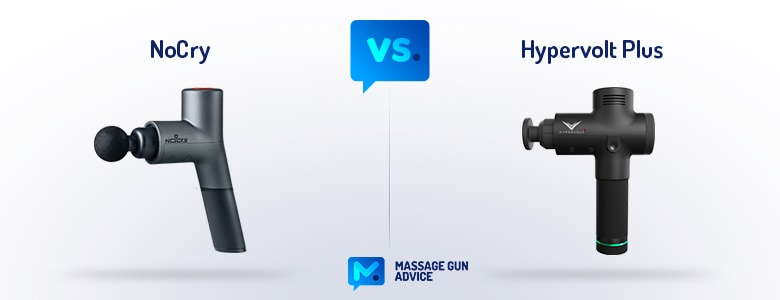 nocry massage gun vs hypervolt
