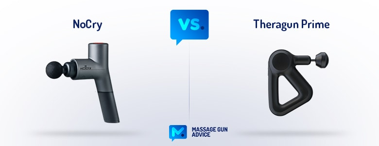 nocry massage gun vs theragun
