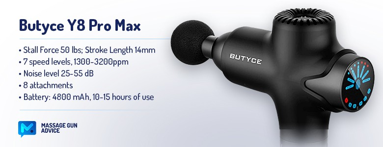 butyce y8 pro max features