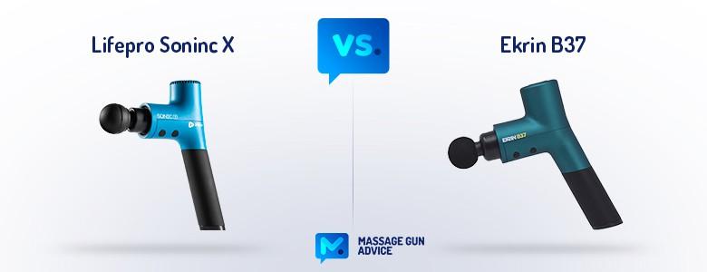 lifepro sonic x vs ekrin b37