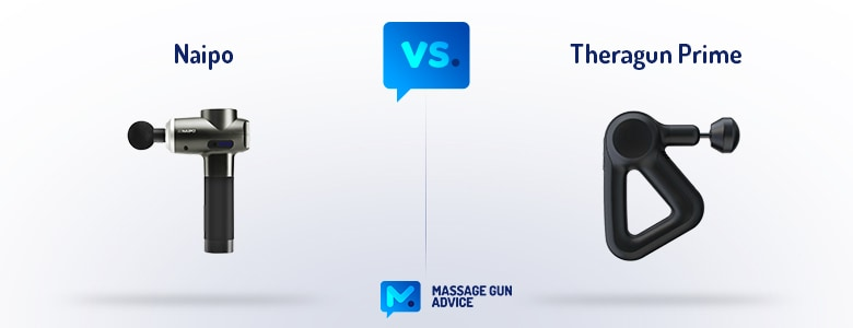 naipo massage gun vs theragun