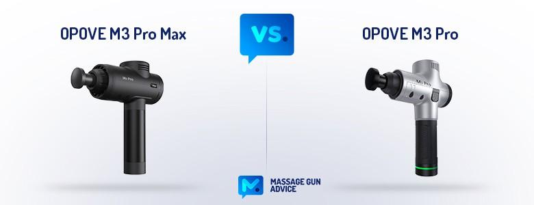 opove m3 pro max vs m3 pro