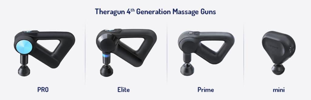 theragun massage gun comparison
