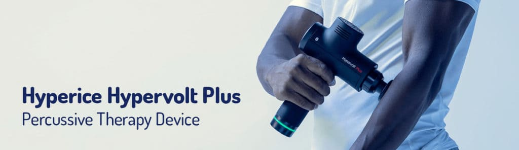 Hypervolt Plus percussive therapy device