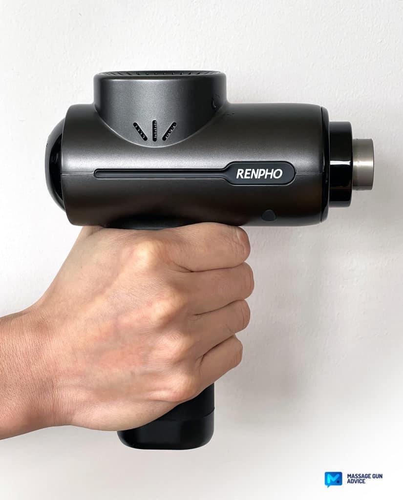 ergonomic renpho r3 mini massager