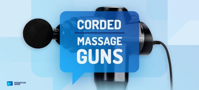 best corded massage gun