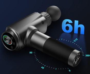 darkiron 2500mah battery massage gun