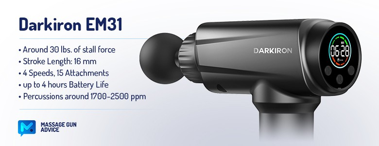darkiron em31 specifications