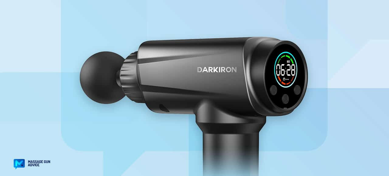 darkiron massage gun review