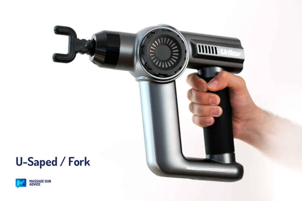 urikar at1 attachment shovel wedge u-shaped fork