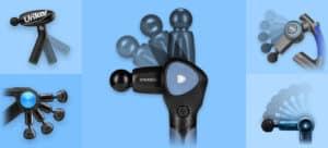 adjustable massage gun