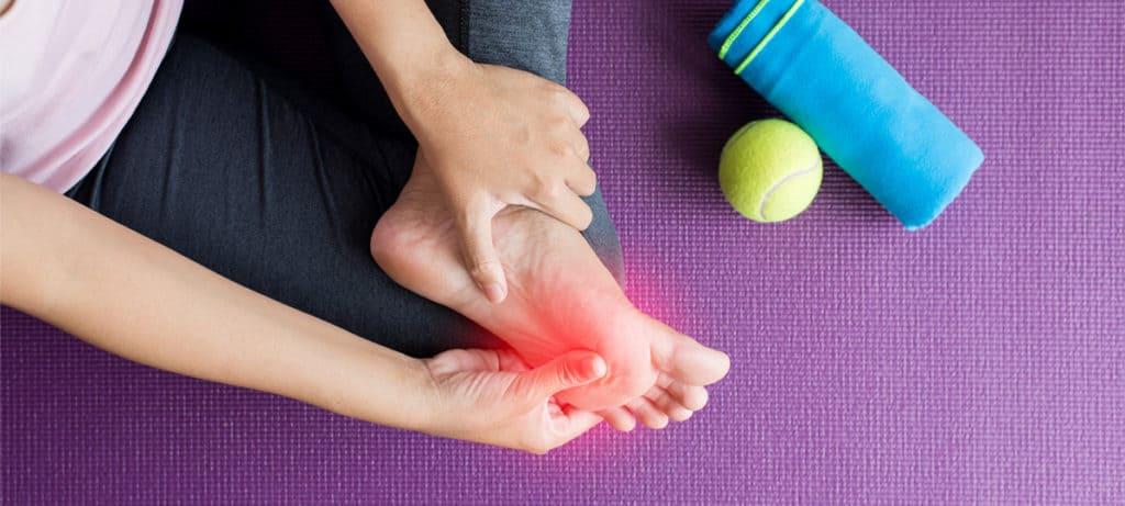 massage gun for foot pain