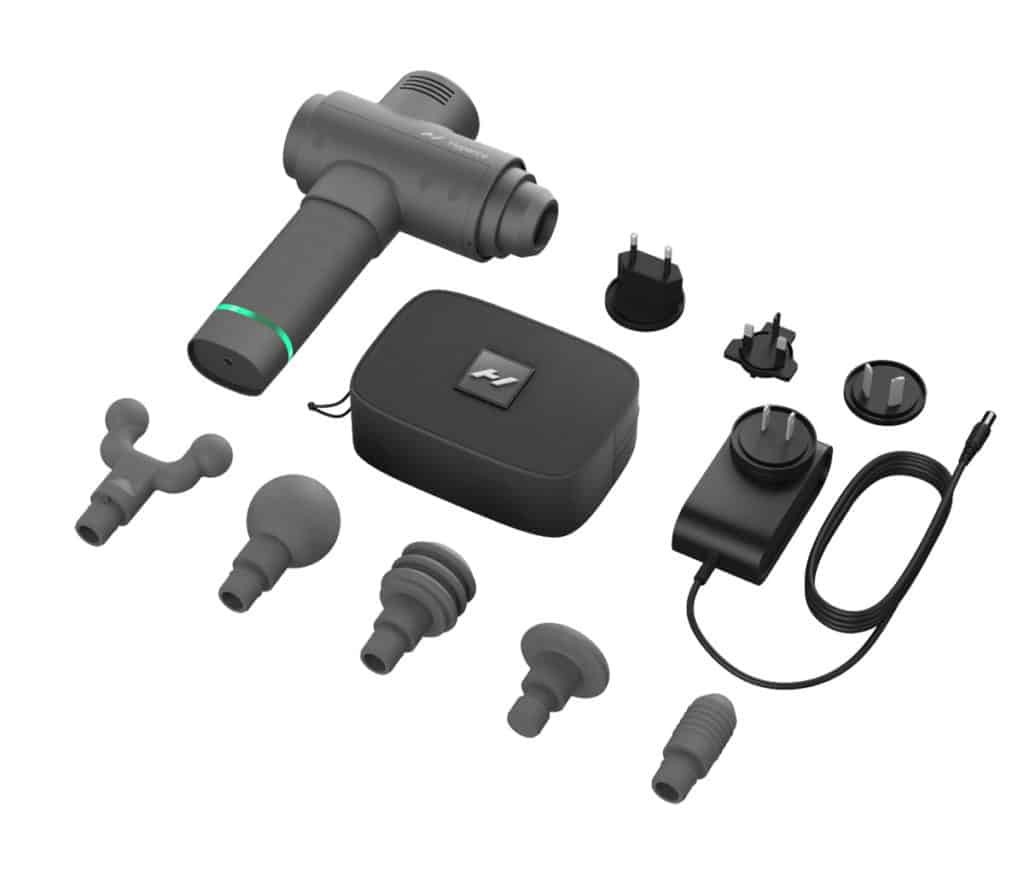 hypervolt 2 included attachments accessories