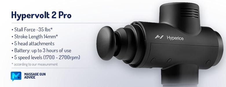 hypervolt 2 pro features